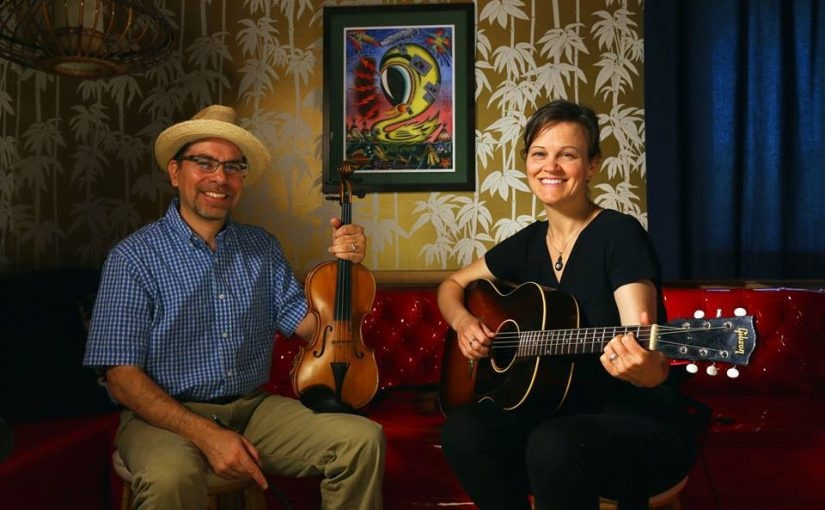 Howard Rains and Tricia Spencer